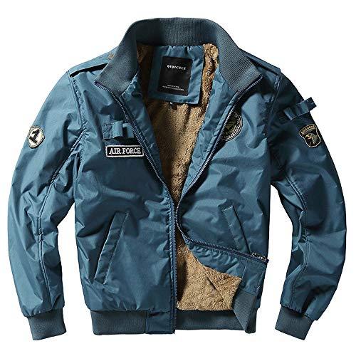 CICIYONER ❤ Cargo Slim Fit Outdoorjacke❤ Herren Mantel❤Stehkragen Trenchcoat❤ Taschen Steppjacke❤ Reißverschluss Cardigan Kurzmantel❤ M-4XL