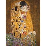 Lámina 'El beso, c.1907', de Gustav Klimt, Tamaño: 61 x 81 cm