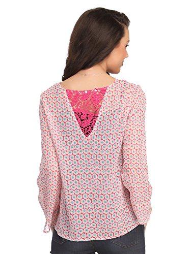 Clovia - Haut de pyjama - Femme Rose - Rose