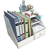 Madera plástico panel Organizador de escritorio, Funcionario inicio...