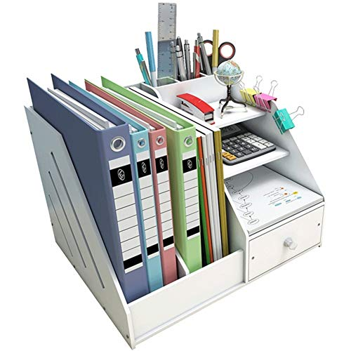 Madera plástico panel Organizador de escritorio