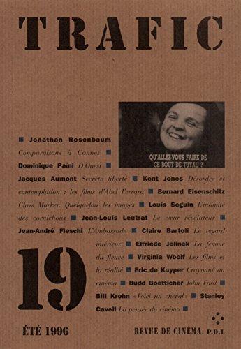 Trafic numéro 19 : Eté 1996 par Collectif