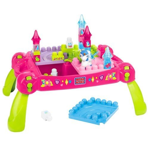 Mattel-Mega-Bloks-First-Builders-CXP12-Lil-Princess-Mrchen-Bautisch