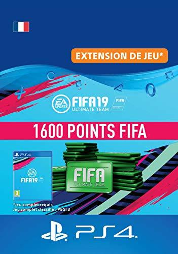 FIFA 19 Ultimate Team - 1600 FIFA Points | Code Jeu PS4 - Compte français
