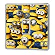 Despicable Me Minions Light Switch Sticker Vinyl / Skin cover sw1