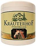 Pferdebalsam kühlt und belebt, wertvolle Kräuterextrakte aus Rosskastanie, Arnika, Rosmarin und Minzöl Kräuterhof 500ml Dose mit Alufolie versiegelt