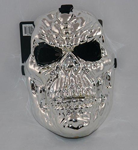 Perkins-Humatt Argent métallique solide Mauler Accessoire Déguisement-Masque