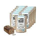 Organic Workout LOWER-CARB-BROT-BACKMISCHUNG 10er Pack - 100% Bio | paleo | glutenfrei | eiweissbrot | ballaststoffreich | ohne Zuckerzusatz | ohne Getreide | hergestellt in Deutschland