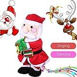 Setsail Weihnachtselektrisches tanzendes Plüschtier des Alten Mannes, Babyspielzeug, Welpenspielzeug, Raum, Schreibtisch