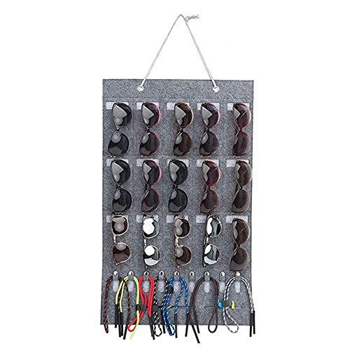 Sonnenbrille-Organisator-Speicher-Wand-Taschen-Wand-Tür-Anzeigen-Hängen
