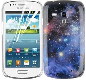 JAMMYLIZARD | Odyssee Back Cover Hülle für Samsung Galaxy S3 Mini, CARINANEBEL