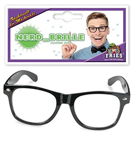Nerd-Brille, Faschings-Zubehör