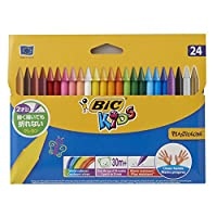 BiC Kids Plastidecor Colouring Crayons (Pack of 12)_Parent_SPIG9