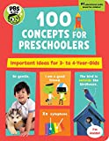 Best Priddy Books Kid Books - PBS Kids 100 Concepts for Preschoolers: Important Ideas Review