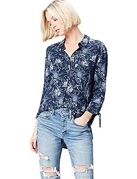 FIND Camisa con Estampado de Flores Para Mujer