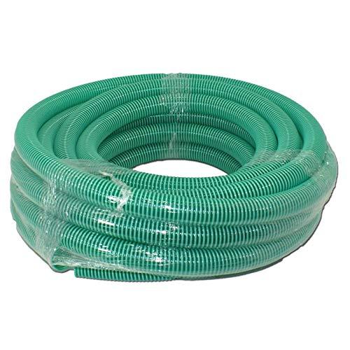 STABILO Sanitaer Spiralschlauch 2 Zoll 50 mm 25m PVC Schlauch Saugschlauch Teichschlauch Druckschlauch Spiralsaugschlauch