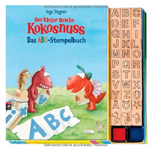 Der kleine Drache Kokosnuss - Das ABC-Stempelbuch - Set