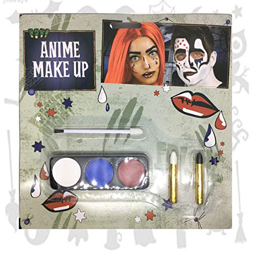 Halloween Anime Make Up Face Paint Death Note Manga Kit Fancy Dress Horror Death