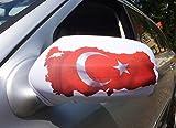 2x Auto Spiegel Rückspiegel Car Bikini EM 2016 Türkei Türkiye Fahne Flagge Flag