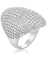 Shaze Oval Flash Stylish Party Fashion Ring for Women/Girls Rings for Women Stylish | Ring for Girlfriend