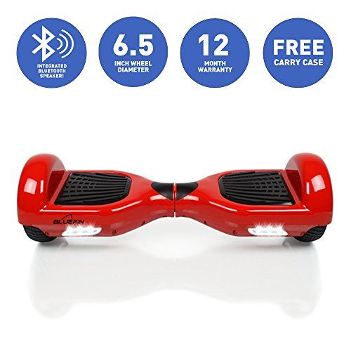 Bluefin Classic Swegway Hoverboard – Red, 6.5 Inch