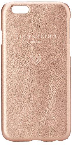 Preisvergleich Produktbild Liebeskind Berlin Damen Mocap6v Metall Handyhülle,  Gold (Rose Gold),  1x14, 5x7 cm