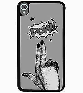 ColourCraft Funny Image Design Back Case Cover for HTC DESIRE 820