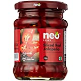Neo Foods Sliced Red Jalapeno, 210g