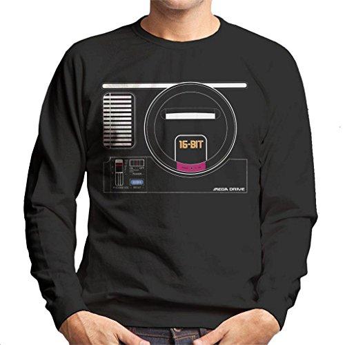 Sega Mega Drive Gaming Console Men's Sweatshirt