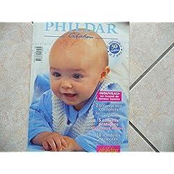 catalogue phildar n 764 de 0 à 2 ans layette