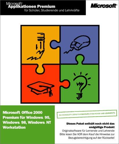 Microsoft SSL Office Premium 2000 — nur für Schüler, Studenten und Lehrer