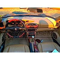 Porsche Boxster 996 Turbo interior Burl madera Dash trim Kit Set 1998 1999 ...