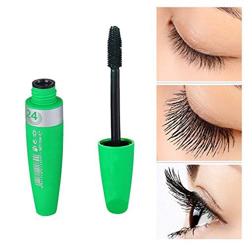 Kaigeli Prolongement verts Mascara avec des fibres naturelles 12ml Imperméable