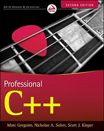 Professional C++ (Wrox Professional Guides)