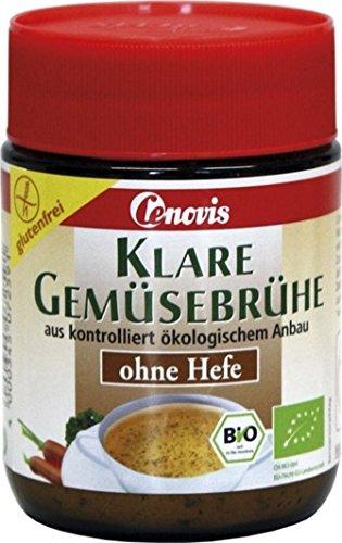 Preisvergleich Produktbild Cenovis - Klare Gemüsebrühe ohne Hefe Bio - 140g