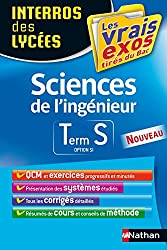 Interros des Lycées Sciences de l'ingénieur Term S option SI