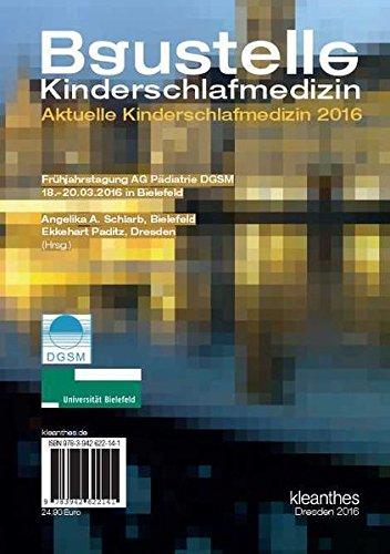 Baustelle Kinderschlaf: Aktuelle Kinderschlafmedizin 2016