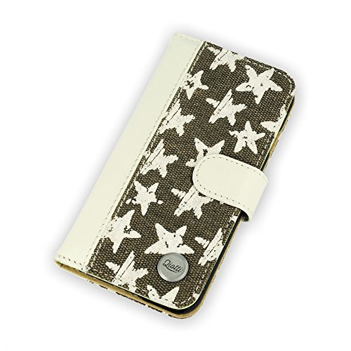 QIOTTI QX-B-0030-00-IP6 Q.Book Catch White Star Schutzhülle für Smartphone