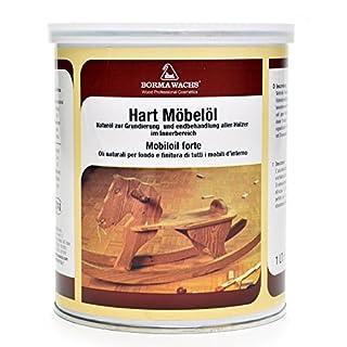 BORMA WACHS Natur Hart Möbelöl (1000ml)