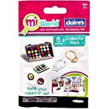 Mi World Collector Pack - Claires Accessory Set - 4 Makeup Pallets and 2 Necklaces