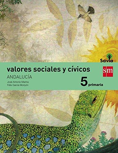 Valores sociales y cívicos 5 Primaria Savia Andalucía