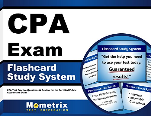 Cpa Exam Flashcard Study System Cpa Test Practice Questions Review For The Certified Public Accountant Exam