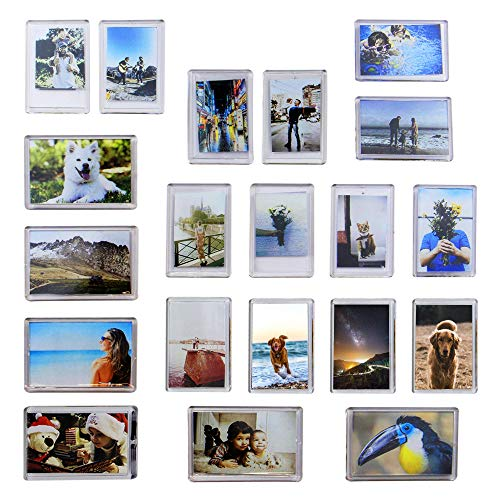 Paquete 20 Mini Imanes Marco Fotos | Imanes Nevera