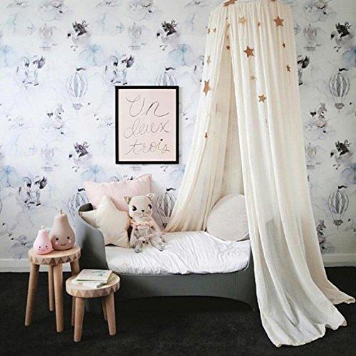 Tianu Dome Mosquito Nets Prinzessin Insekten Net Schutz, Keine Hautirritationen Deet Freie Netz Vorhänge für Kinder Baby Bettwäsche Room Urlaub Innen Weiß
