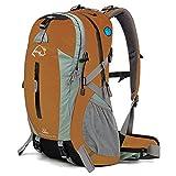 Outdoor peak Unisex di alta qualità In Nylon Zaino Zaino Scuola Tempo Libero Borsa Laptop Borsa Studente Borsa da viaggio Uomo e sport zaino di svago pacchetto, arancione