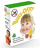 #1: Heavy Duty Mosquito Patches: Buzz-OFF! NextGen Mosquito Repellant Patches, Pack of 24, Premium Quality Eco-friendly Mosquito and Insect Repellant Citronella Patches, Kid-safe, Deet Free