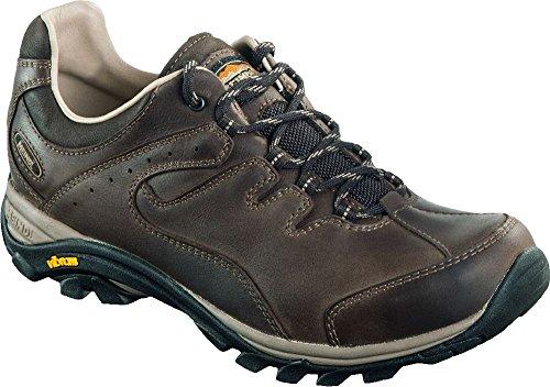 Meindl - Scarpe Caracas GTX Scarpe da camminata, in pelle, colore marrone scuro, Marrone (blu scuro), 46