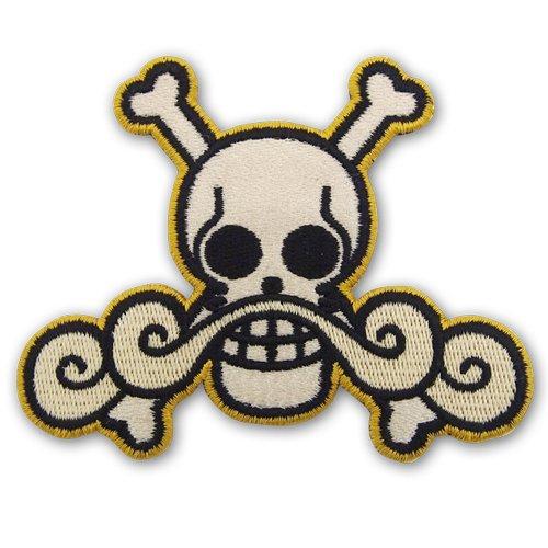 One Piece de Roger Piratas Wappen Parche