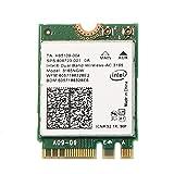 Intel 3165 3165NGW 3165AC Dual-Band Wireless AC + Bluetooth4.0 Mini NGFF WLAN Karte 802. 11ac 3165 Wireless WiFi-Karte
