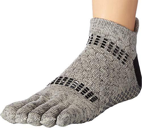 Toesox Damen Women's Low Rise Full Grip Non-Slip for Ballet, Yoga, Pilates, Barre Toe Socks, Jet, Größe S Pointe Womens Slip